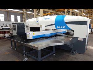 ເຄື່ອງປັ໊ມ CNC 30 ton CNC servo hydraulic turret punch press
