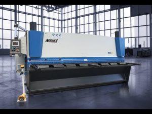 ເຄື່ອງຕັດຫຍິບໄຮດໍລິກ MS8 8x4000 ມມກັບຈໍເຈຍ ELGO P40T touch screen CNC