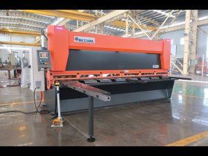 ມາດຕະຖານ Master rake ກັບ CNC ໄຮ້ສາຍ guillotine shears MS8-10x4000mm