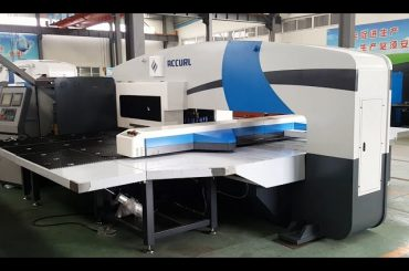 cnc punch press manufacturers - turret punch presses-5-axis cnc servo punching machines