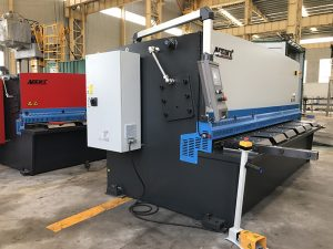 ce certification cnc hydraulic guillotine shearing machine